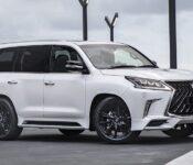 2022 Lexus Lx 570 Changes Towing Capacity
