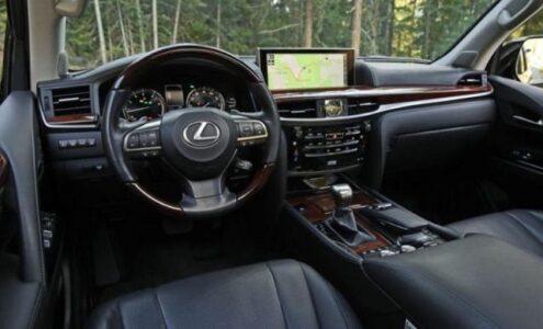 2022 Lexus Lx 570 Three Row Super Sport