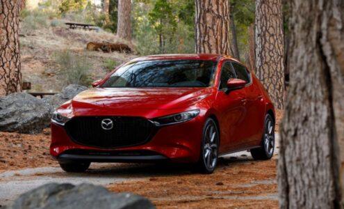 2022 Mazda 3 Hybrid Manual Transmission