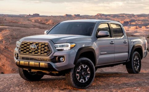 2022 Toyota Tacoma Colours Towing Capacity Features