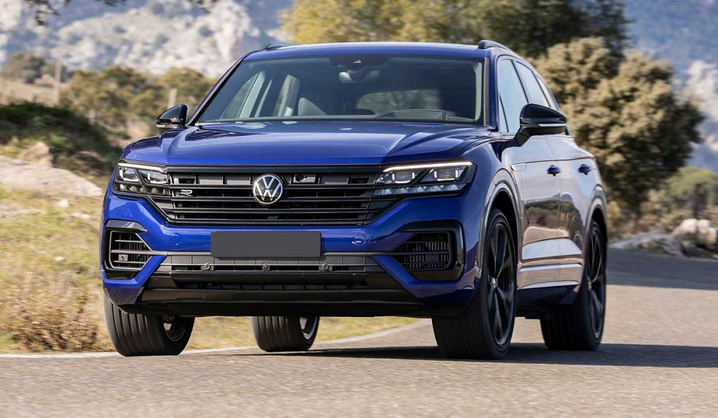 2022 Vw Touareg Dimensions Release Date