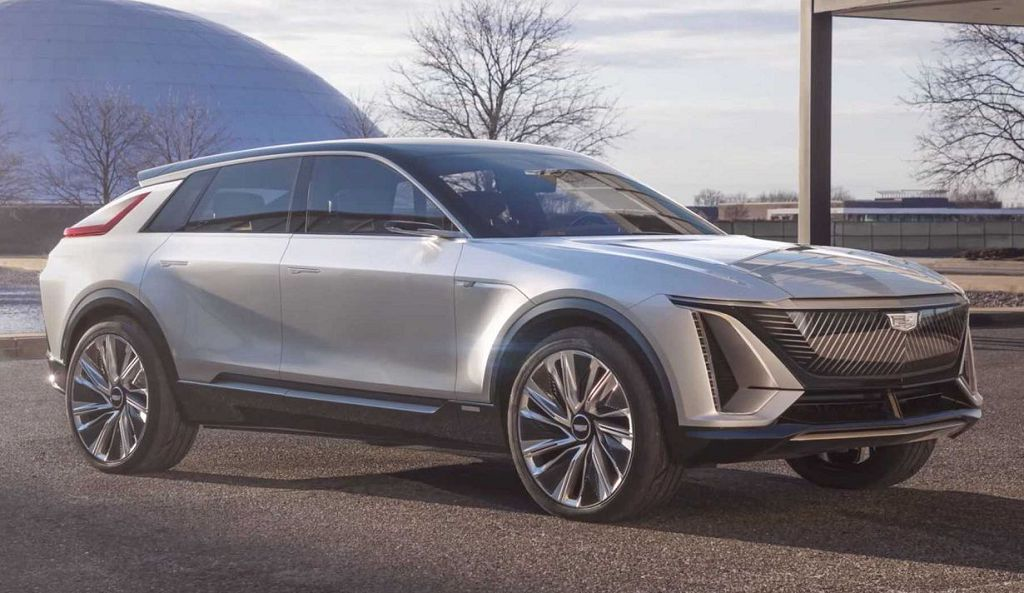 2023 Cadillac Lyriq Dimensions