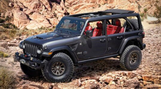 2022 Jeep Wrangler Hse Mpg