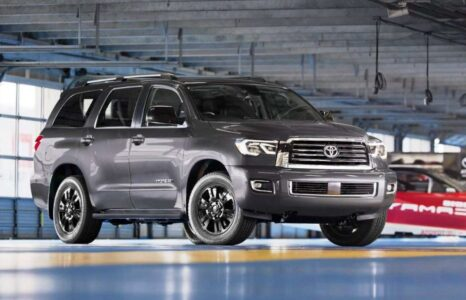 2022 Toyota Sequoia Images Limited Release Review