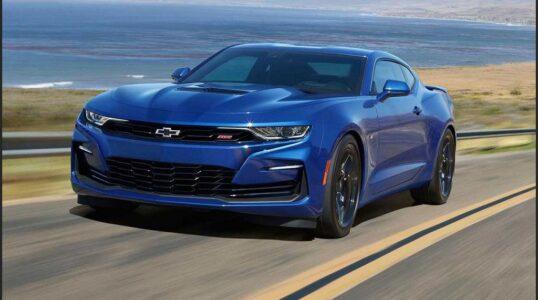 2022 Chevrolet Camaro Convertible Price