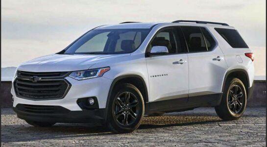2022 Chevrolet Traverse Dimensions Launch Date