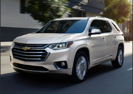 2022 Chevrolet Traverse Exterior Colors High Country Price