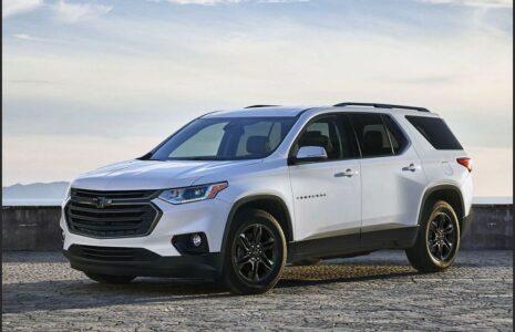 2022 Chevrolet Traverse Interior Redesign