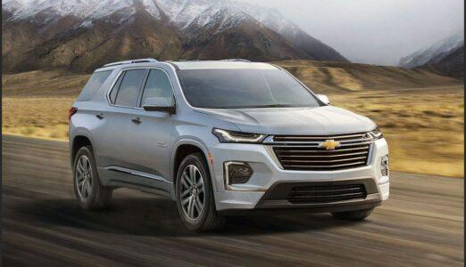 2022 Chevrolet Traverse Price Lt Models Photos