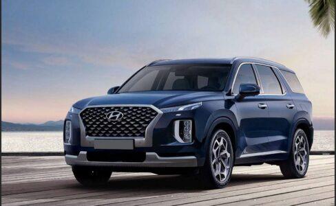 2022 Hyundai Palisade Phev Powertrain Pics Release Towing Capacity