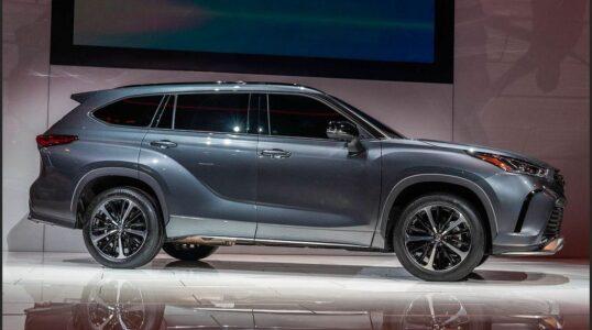 2022 Toyota Highlander Images Platinum Interior Xle Limited