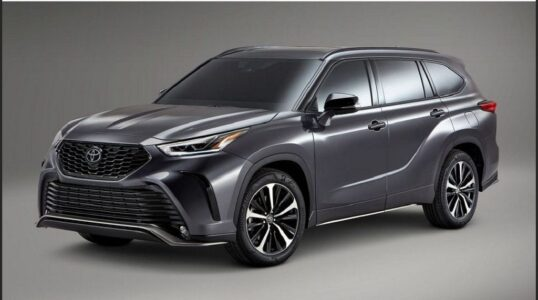 2022 Toyota Highlander Platinum Xse Prime Awd